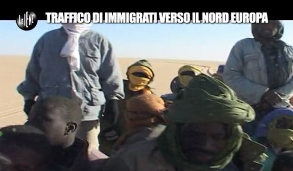 Pelazza Le Iene Immigrati