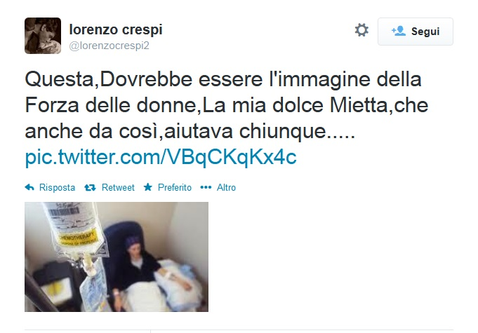 Tweet Crespi Mietta