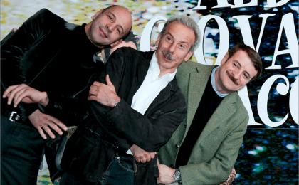 Aldo Giovanni e Giacomo: Ammutta Muddica debutta su Canale5 tra parodie e sketch