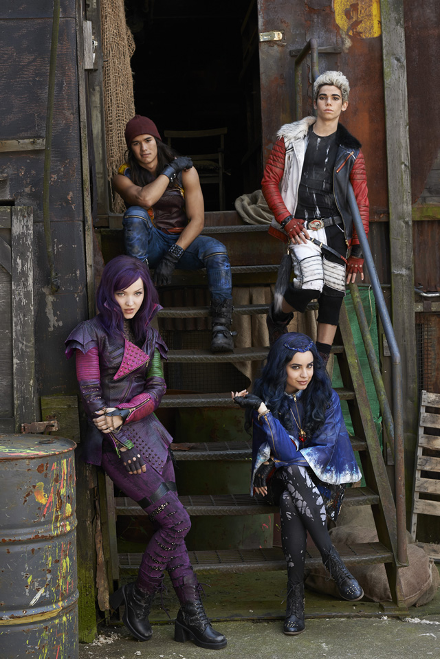 Descendants, la prima foto ufficiale