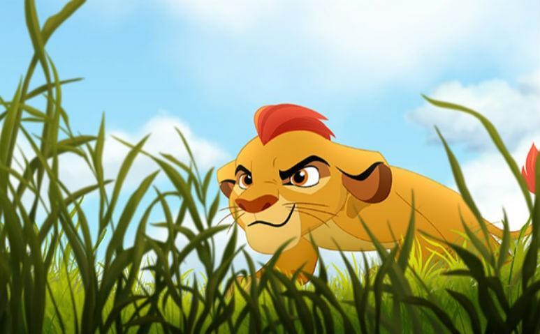 Re leone la serie tv the lion guard con protagonista kion nel 2015
