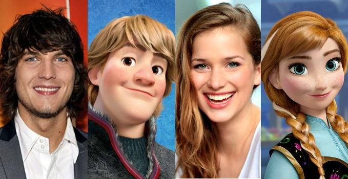Ouat personaggi Frozen