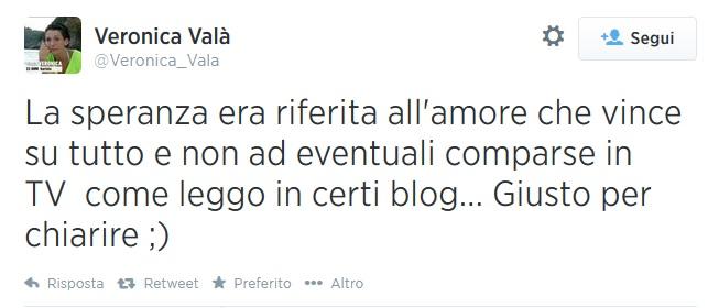 Tweet Veroncia Valà
