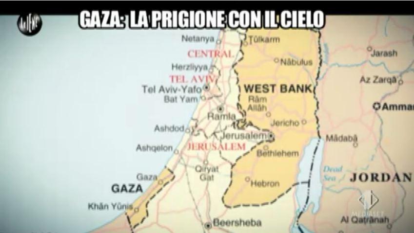 Le Iene 170914 Palestina e Israele