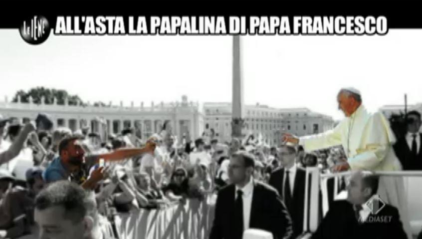 Le Iene 190914 Damiano e il papa