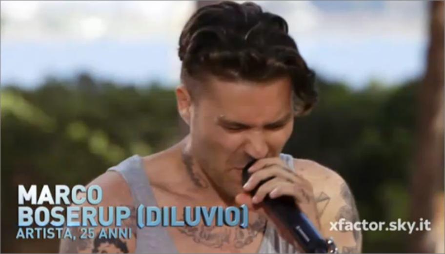 Diluvio a X Factor 8