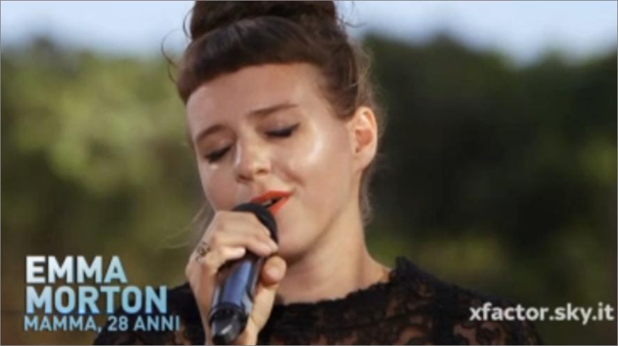 Emma Morton a X Factor