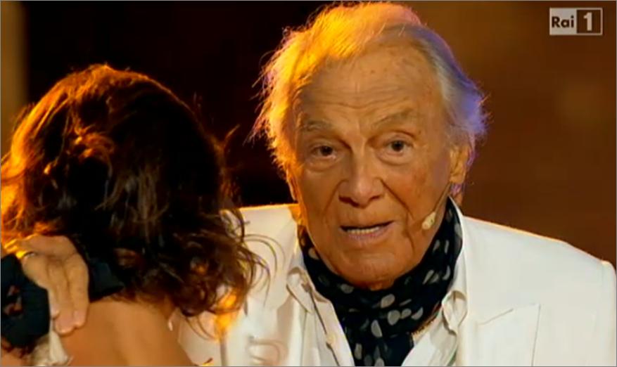 Giorgio Albertazzi a Ballando con le Stelle 10