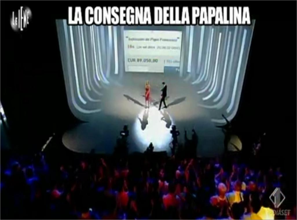 La consegna della papalina