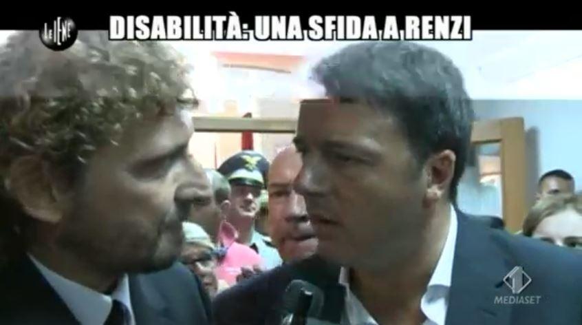 Le Iene 151014 Renzi e sla 2