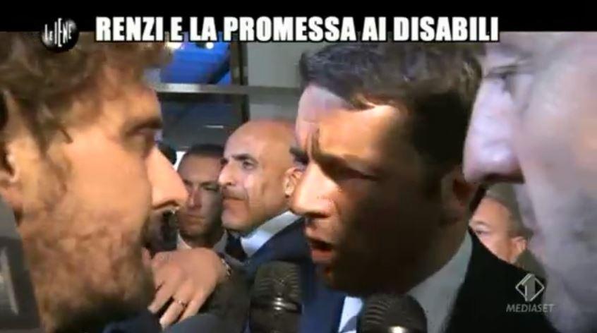 Le Iene 151014 Renzi e sla 6