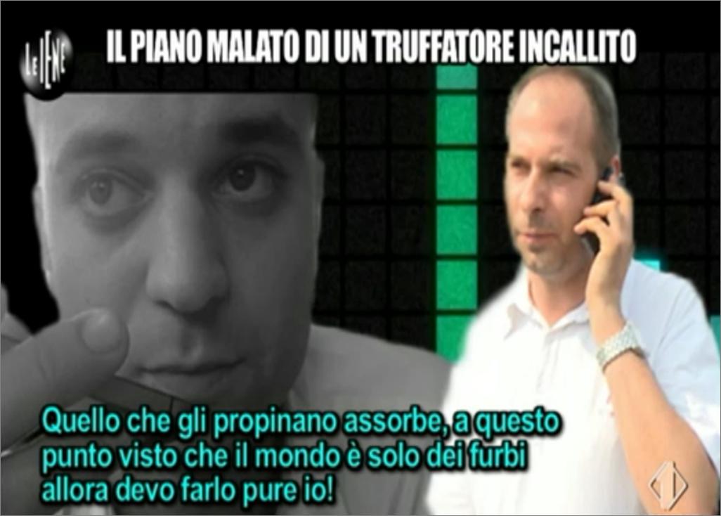 Matteo Viviani, il piano malato di un truffatore
