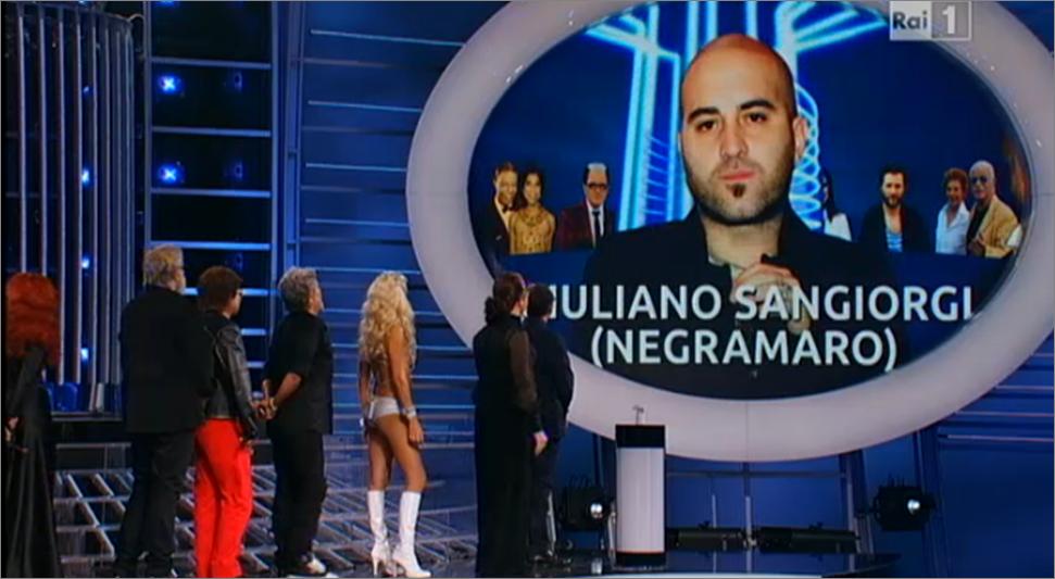 Valerio Scanu imiterà Sangiorgi de I Negramaro nella sesta puntata