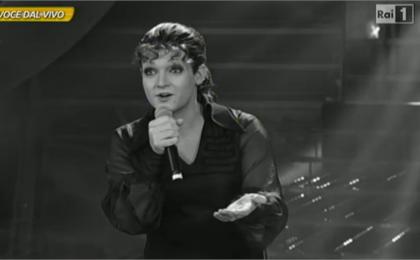 Tale e Quale Show 2014, Valerio Scanu imita Orietta Berti: è il Venerdì 17 di Rai 1 [FOTO]