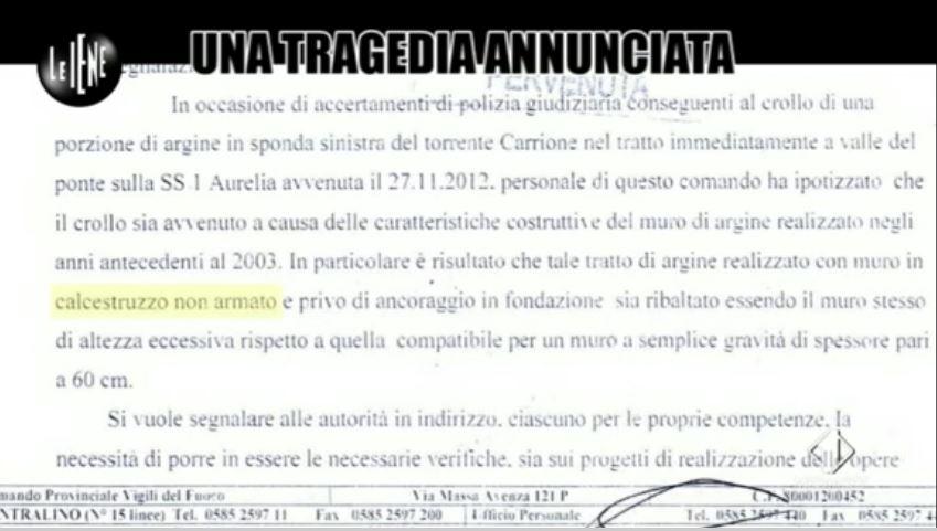 Le Iene 12112014 Carrara 3