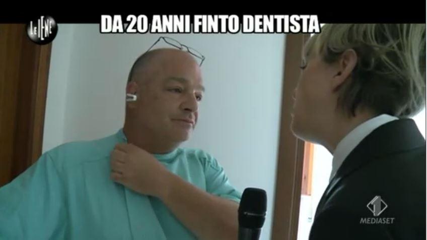 Le Iene 12112014 Finto dentista 10