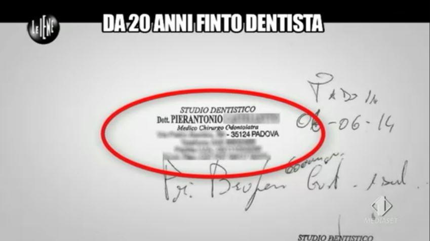 Le Iene 12112014 Finto dentista 7