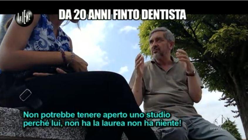 Le Iene 12112014 Finto dentista 8