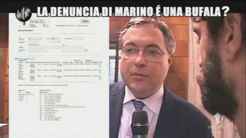 Le Iene 12112014 Marino 10
