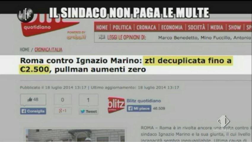 Le Iene 12112014 Marino 3