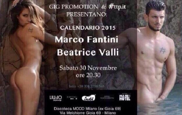 Marco e Beatrice calendario