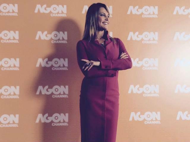 Simona Ventura su Agon Channel