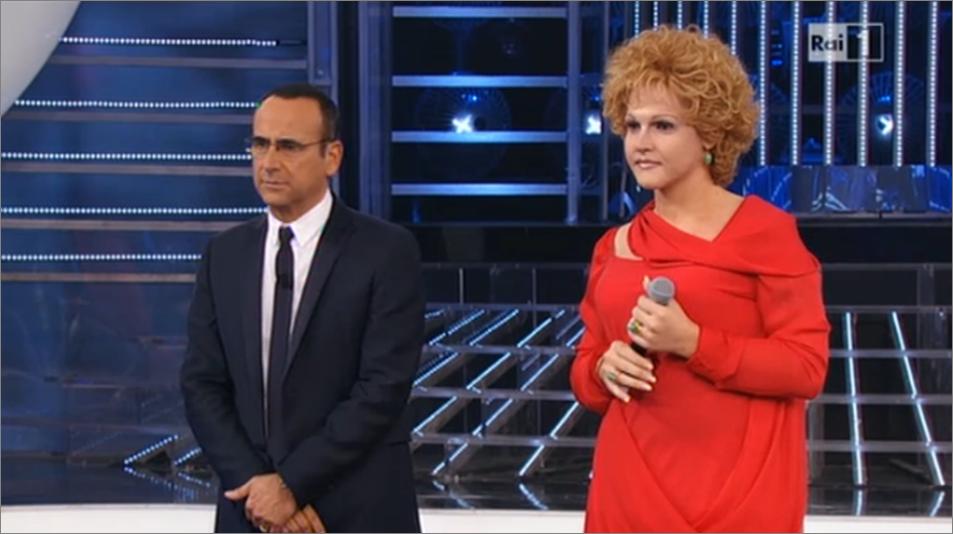 Valerio Scanu Ornella Vanoni non convince Loretta Goggi