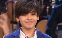 Vincenzo Cantiello vincitore dello Junior Eurovision 2014: Clerici esulta con gaffe