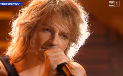 Tale e Quale Show 2014, Valerio Scanu imita Bon Jovi [FOTO]
