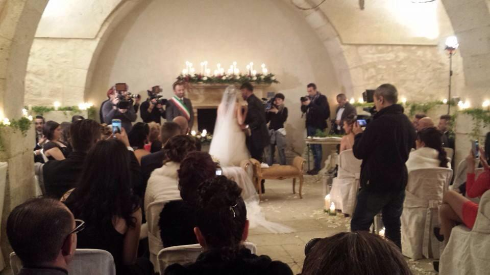 Aldo e Alessia sposi