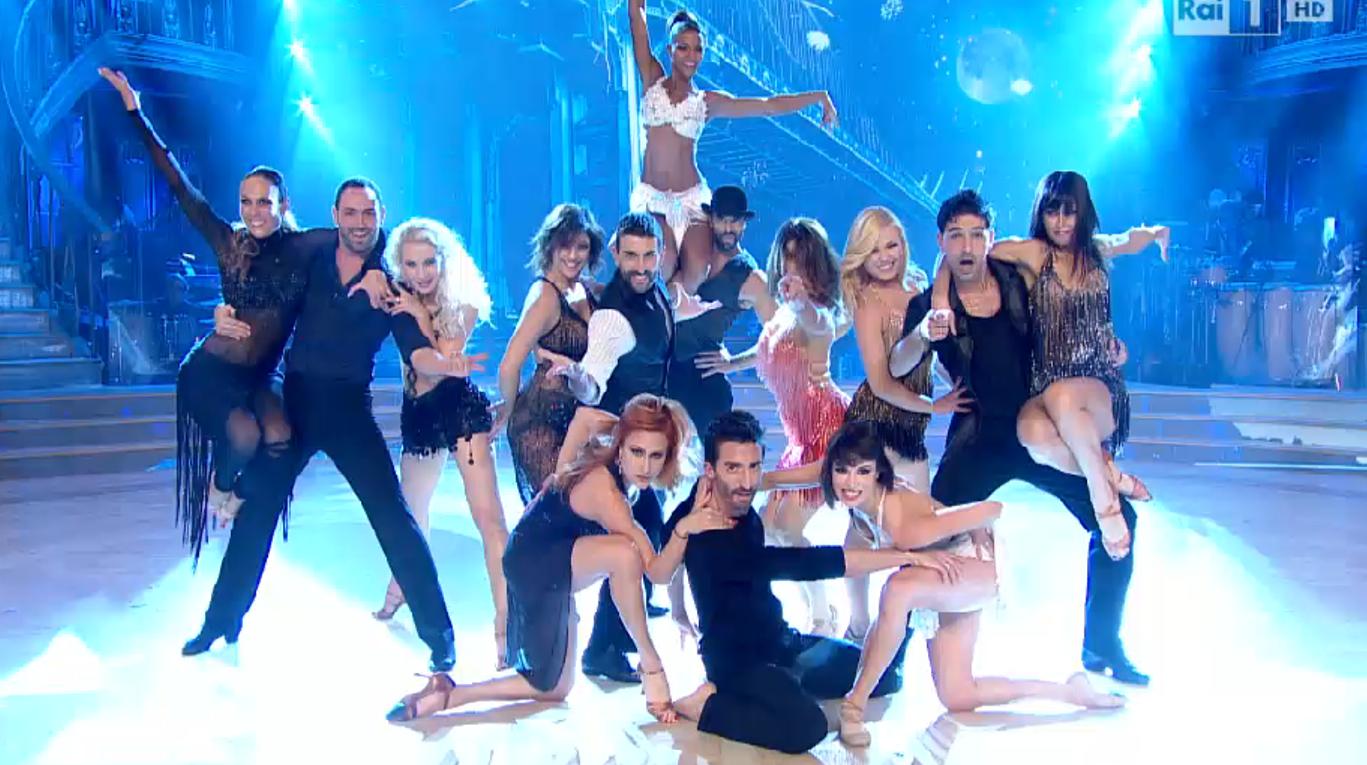 I ballerini professionisti di Ballando con le Stelle 2014