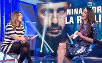 Domenica In, Nina Moric contro Paola Perego (e Gabriella Corona): la lite in diretta TV