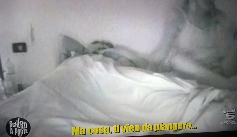 Paolo Ruffini piange per lo scherzo