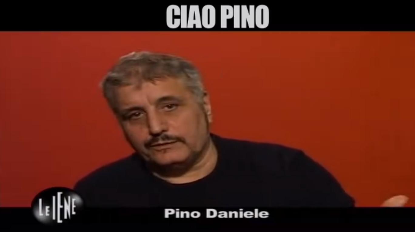 Pino Daniele nel video de Le Iene: 'Paura della morte? Per me il vero mistero è la vita'
