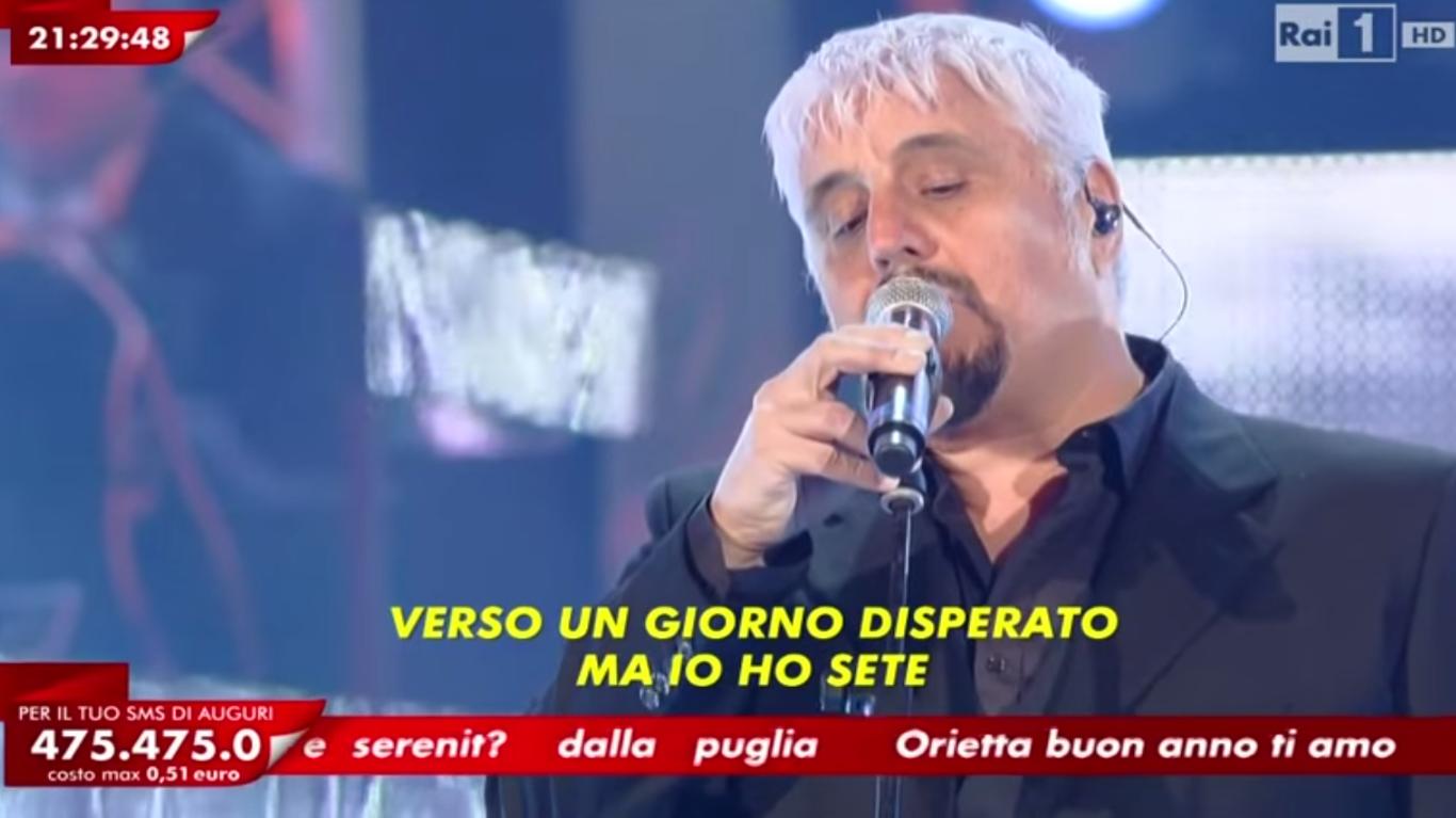 Pino Daniele a L'Anno che verrà