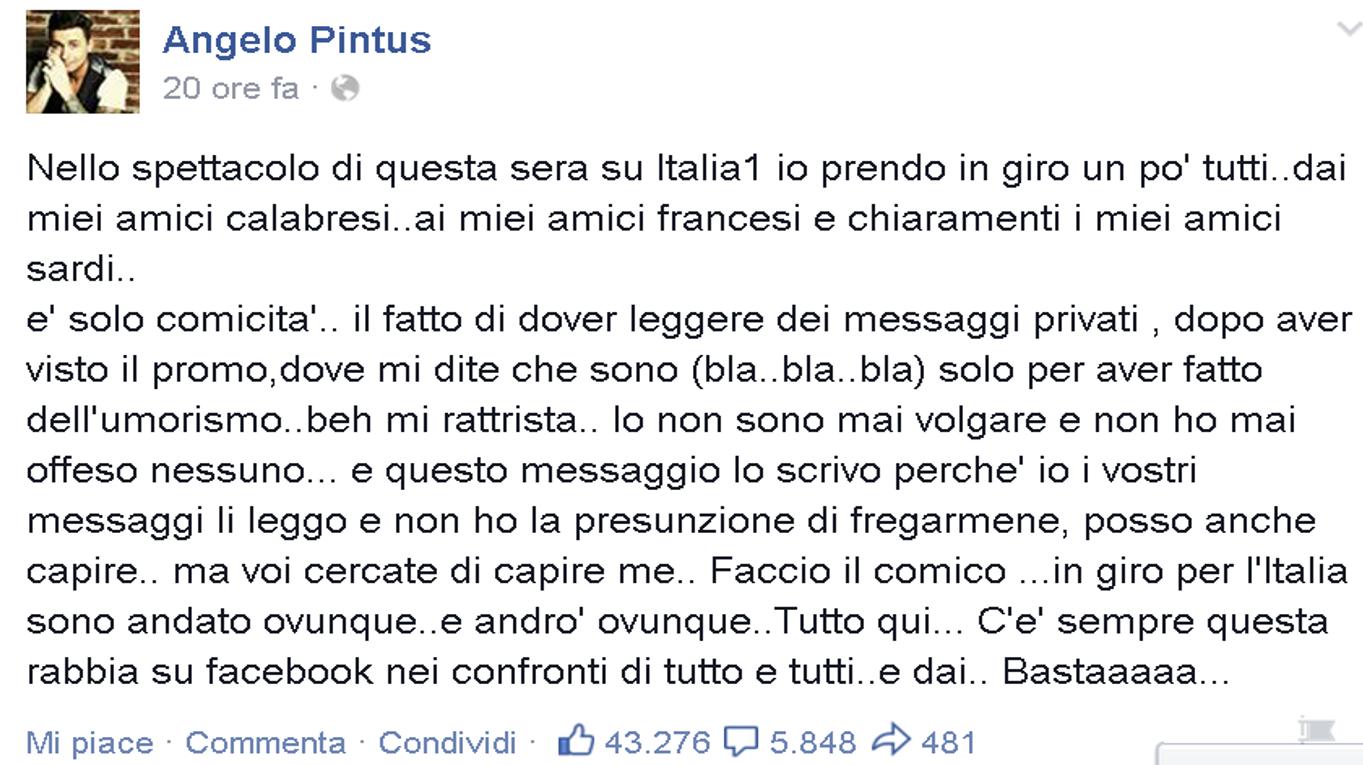 Pintus facebook