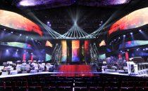 Festival di Sanremo 2015, la scenografia: la foto del palcoscenico dellAriston