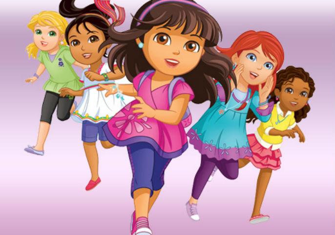 Dora and Friends in città, su NickJr dal 9 di febbraio 2015 la nuova serie animata