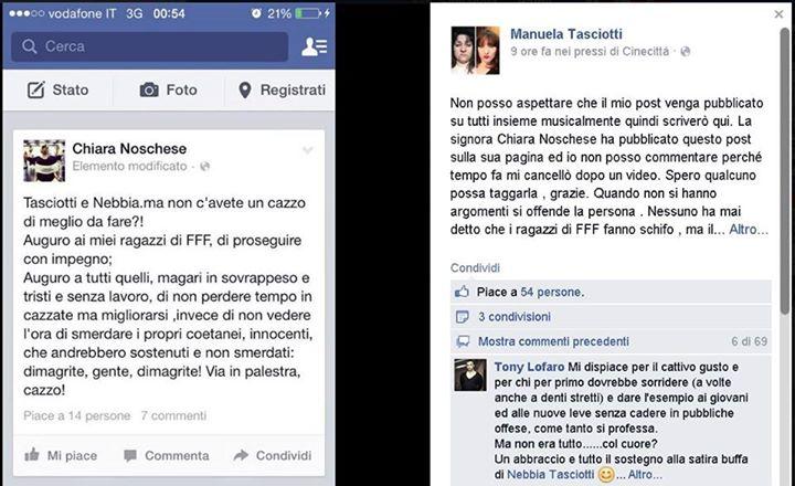 Noschese vs Tasciotti