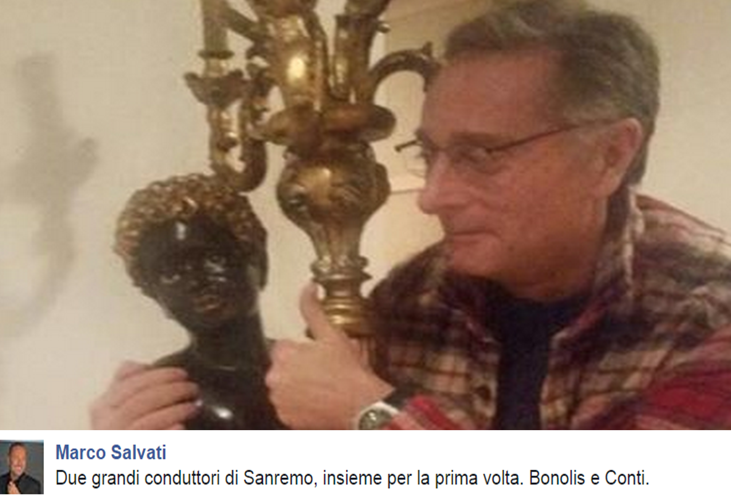 Paolo Bonolis e Conti per finta