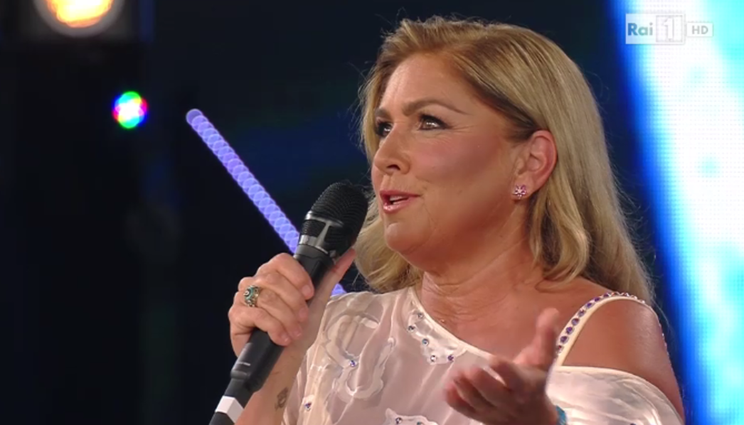 Romina Power all'Ariston