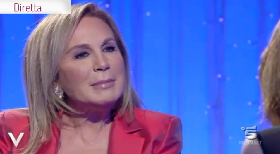 Rosanna Lambertucci parla del marito a Verissimo