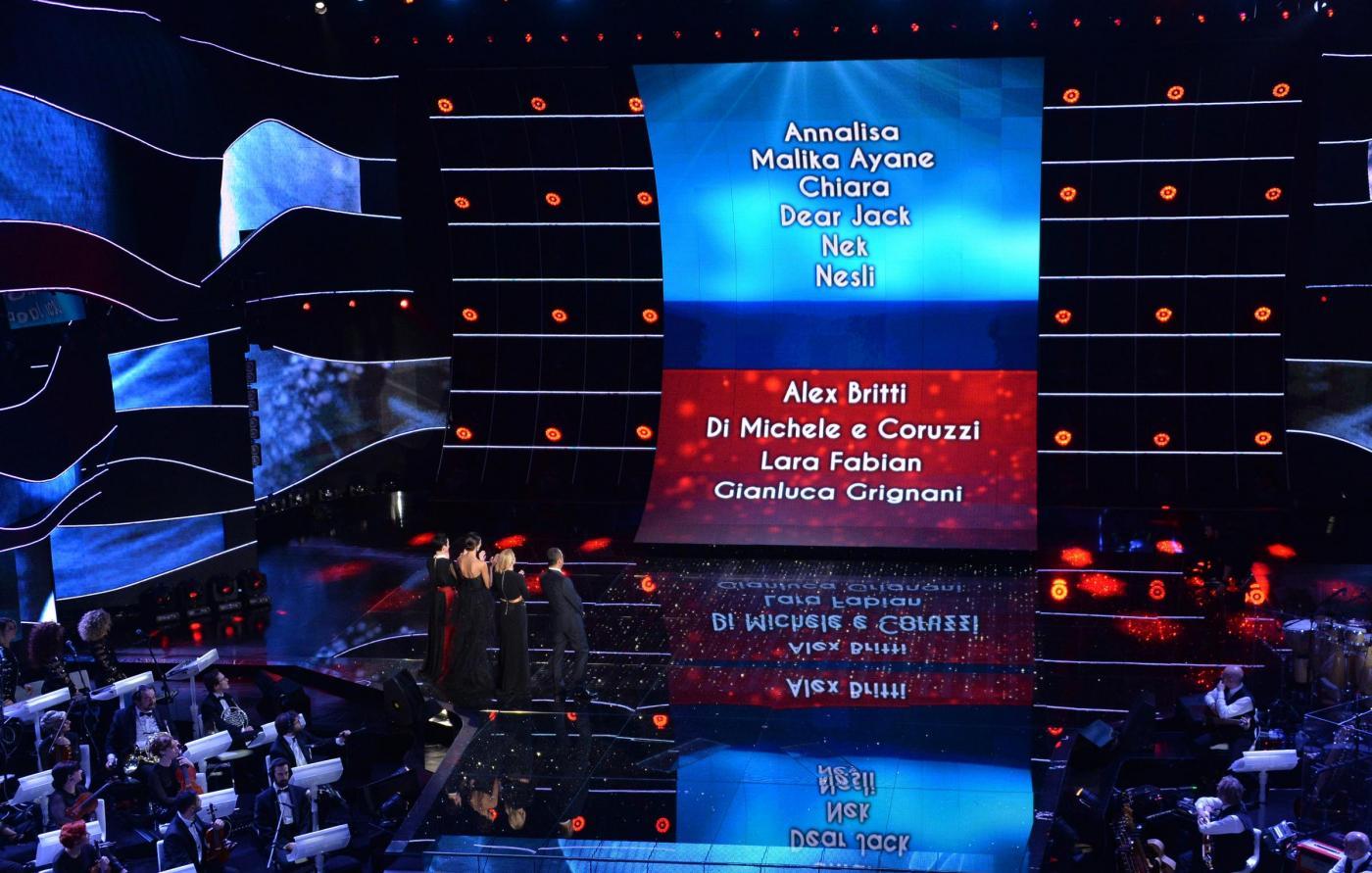 Sanremo 2015, le canzoni della prima serata del Festival