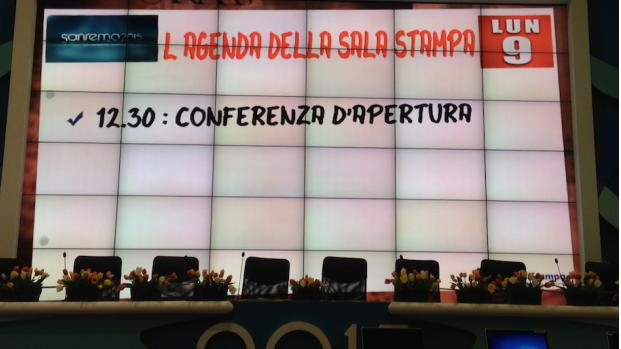conferenza stampa d'apertura