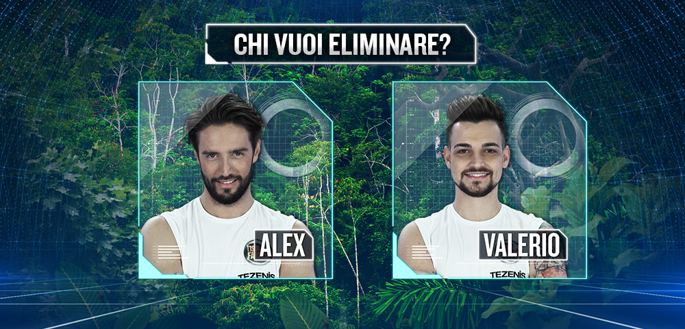 Alex Belli e Valerio Scanu in nomination