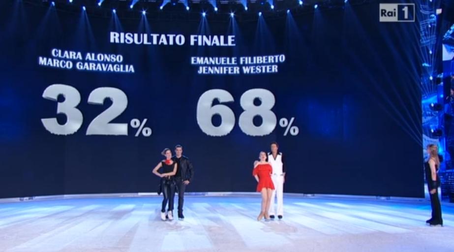 Emanuele Filiberto finalista