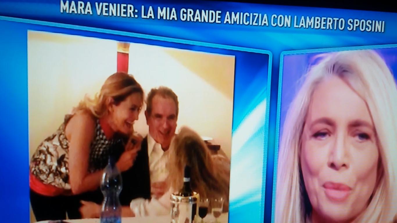 Mara Venier parla di Sposini a Domenica Live