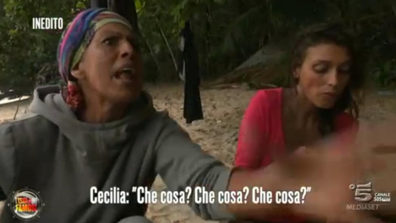 Rachida contro Cecilia Rodriguez
