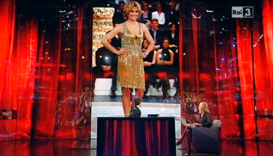 Simona Ventura in tv