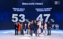 Il vincitore di Notti sul ghiaccio 2015 Giorgio Rocca
